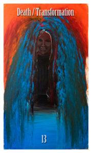 Death / Transformation by Jade M Tarot Major Arcana Initiates Way