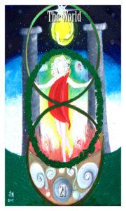 The World Major Arcana Tarot by Jade M