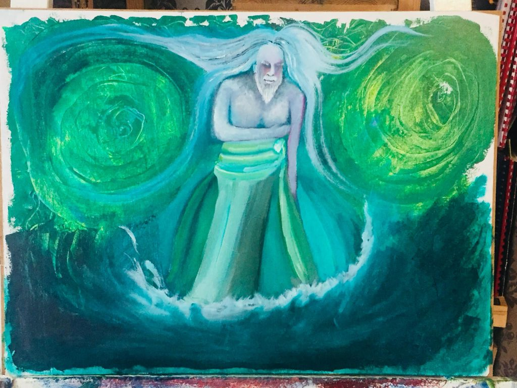 Manannan Mac Lir: God of the Sea and Guardian of the Afterlife