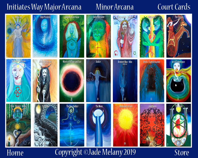 initiate's way tarot