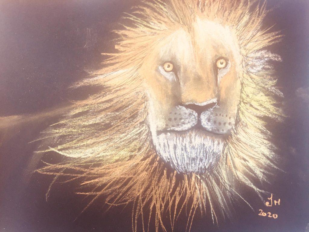 Lion spirit guide