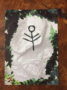 initiates way bookplate Jade Melany