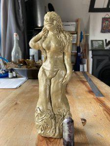 Venus goddess sculpture